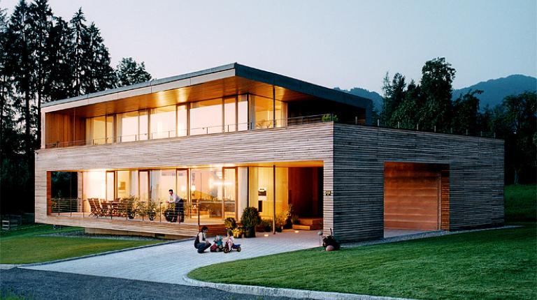 Houten huis / Passief huis