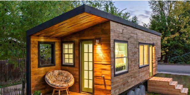 Klein budget, klein huisje