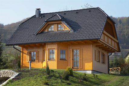 Houten huis Slovenie