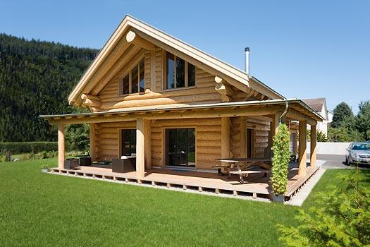 Houten Woning Ideeen : Ideeën voor houten huizen blokhutten en chalets real estate slovenia