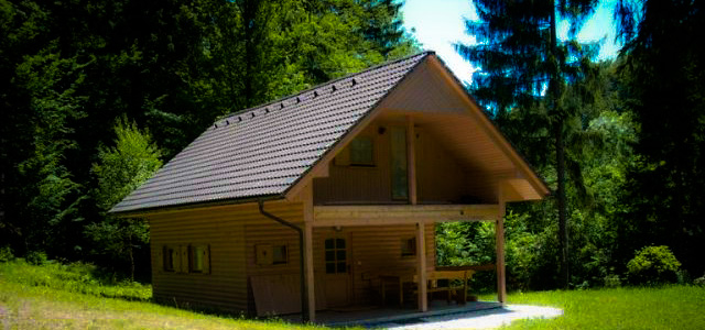 Log cabin Slovenia