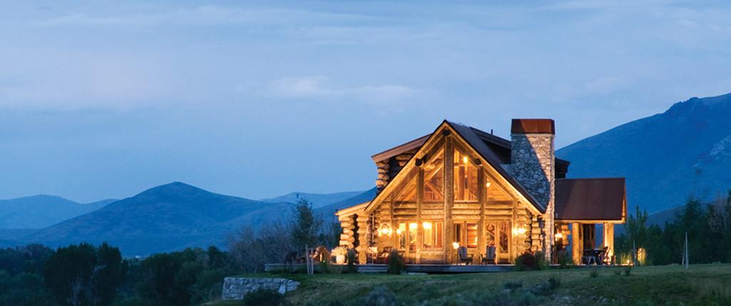 Een houten droomhuis