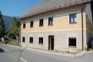 te koop appartement met tuin Bovec