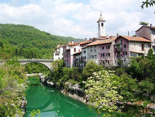 te koop middeleeuwse woning Kanal - huis kopen in Slovenie