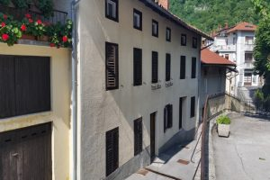 for sale townhouse & annexe Most na Soci - www.slovenievastgoed.nl
