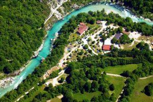 Resort for sale in Slovenia Soca valley - on river Soca - Real Estate Slovenia - www.slovenievastgoed.nl